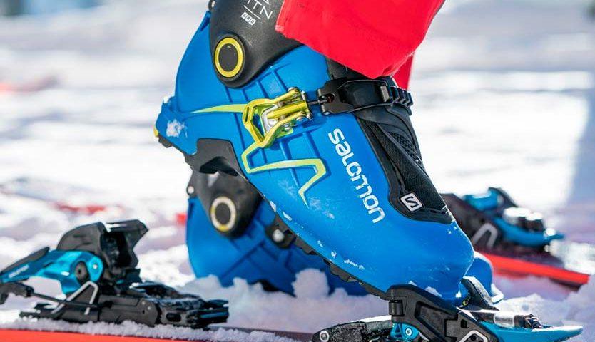 Структуры скользящей поверхности лыж SALOMON